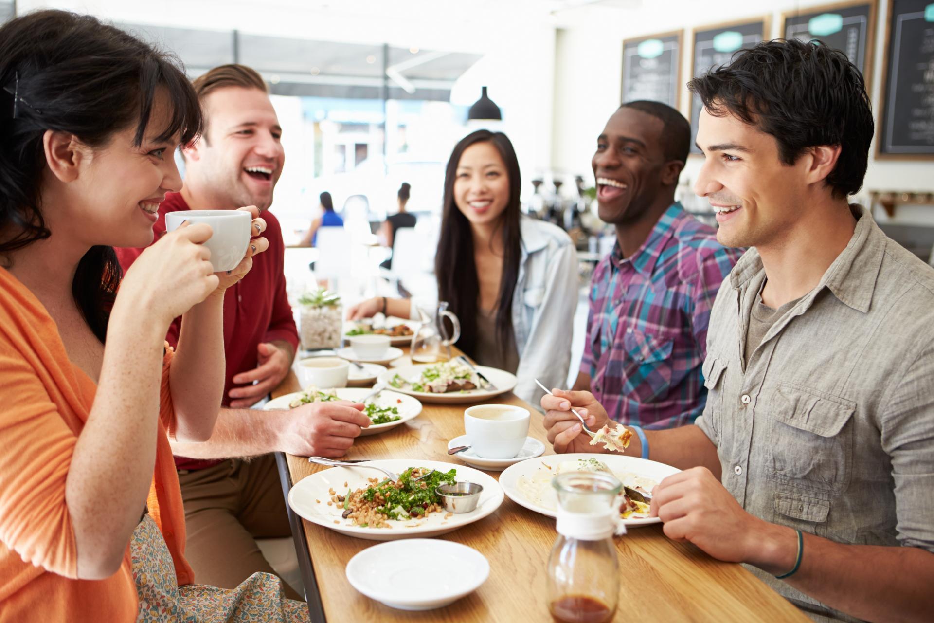 Картинки люди за едой